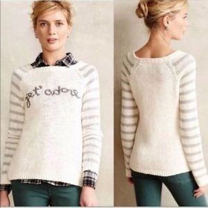 Super comfortable Jet' adore knitted sweater